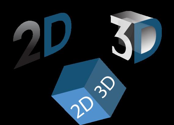 2D, 3D Animation