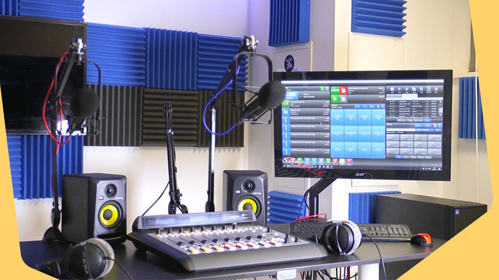Studio equipments
